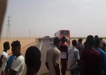 إصابات بين سودانيين باشتباكات مع الشرطة المصرية