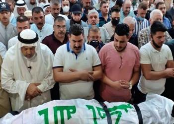 جنازة مهيبة في الموصل لآخر وزراء دفاع صدام (صور)