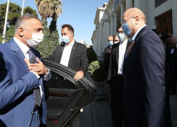 رئيس الوزراء العراقي يواصل زيارته لإيران ويلتقي رئيس البرلمان