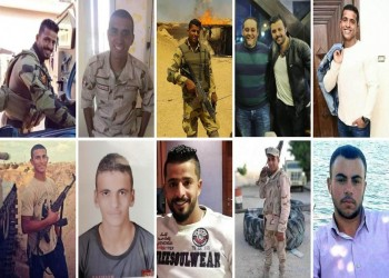 بالأسماء.. ضحايا هجوم سيناء 10 عسكريين على الأقل