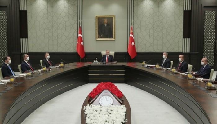 أردوغان يجتمع مع الشورى العسكري إثر التوتر مع اليونان