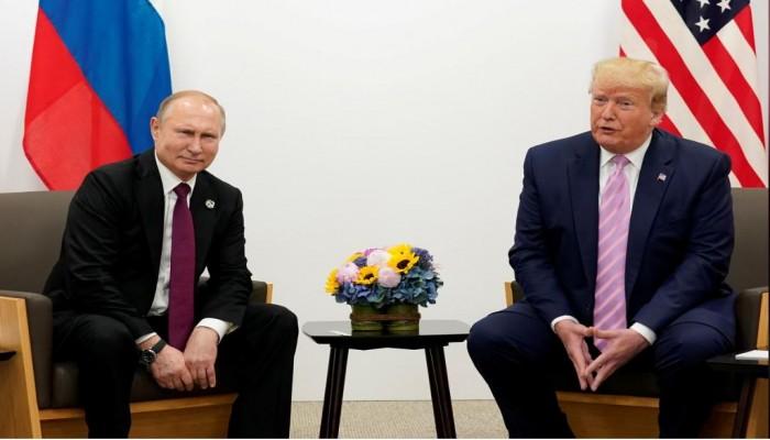 ترامب وبوتين يبحثان هزيمة كورونا وتفادي سباق تسلح مع الصين