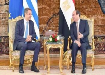 السيسي ورئيس وزراء اليونان يبحثان الأوضاع في ليبيا