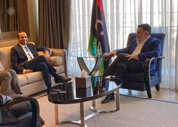رئيس الوفاق الليبية يلتقي وزير خارجية قطر في إسطنبول