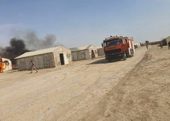 بغداد.. سقوط 4 صواريخ على معسكر يضم قوات أمريكية