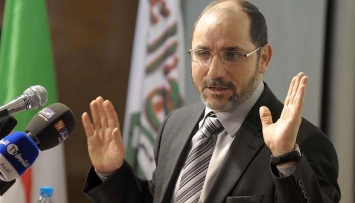 إصابة رئيس حركة مجتمع السلم الجزائرية بكورونا