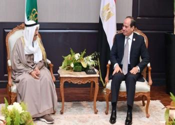 السيسي يهاتف ولي العهد الكويتي للاطمئنان على صحة أمير البلاد