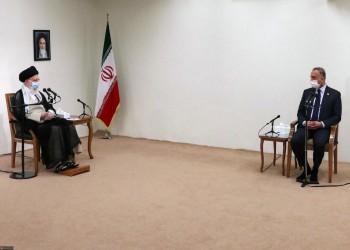 رسائل خفية متبادلة خلال زيارة الكاظمي لإيران