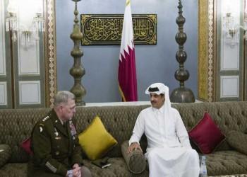 تميم ورئيس الأركان المشتركة الأمريكية يبحثان التعاون الدفاعي