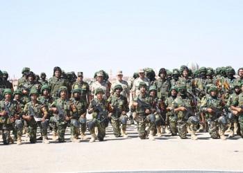 عناصر الجيش المصري تتموضع على الحدود مع ليبيا