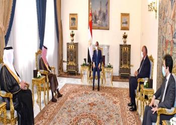 السيسي يلتقي وزير خارجية السعودية لبحث أوضاع ليبيا واليمن