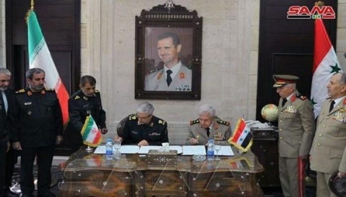 معهد واشنطن: تهديدات تواجه اتفاق الدفاع الجوي بين إيران وسوريا