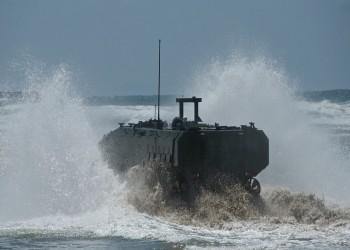 فقدان 8 من قوات المارينز في غرق آلية برمائية في الولايات المتحدة