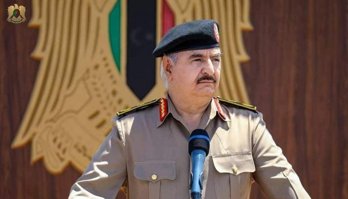 حفتر يزعم: ليبيا لم تر من الأتراك إلا الشر طيلة 300 عام
