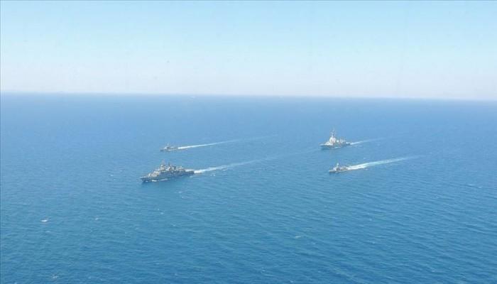 تركيا وإسبانيا تجريان مناورات عسكرية في بحر إيجة