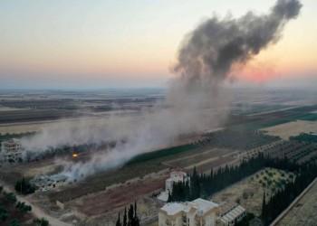 النظام السوري يقصف أكبر مستودعات هيئة تحرير الشام بريف إدلب