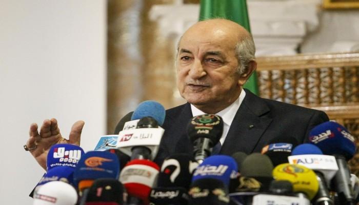 تبون يشيد بالعلاقات بين الجزائر والمغرب