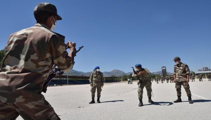 طلاب ليبيون يواصلون تدريباتهم العسكرية في تركيا