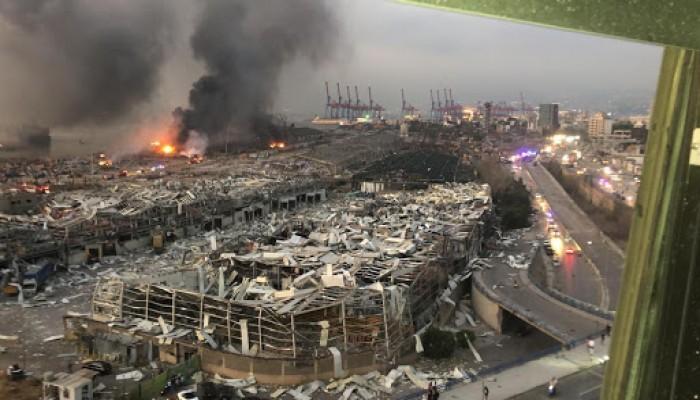 """مصدر أمني لبناني لـ""""الخليج الجديد"""": تفجير مرفأ بيروت عمل تخريبي"""