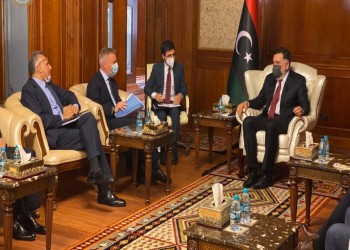 السراج يبحث التعاون العسكري مع وزير الدفاع الإيطالي بطرابلس
