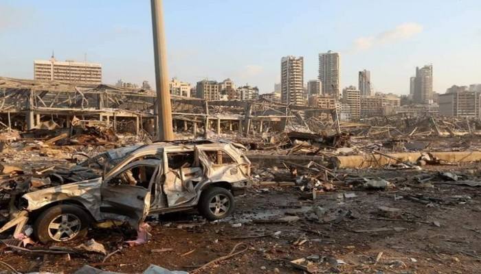 إصابة زوجة سفير هولندا لدى لبنان في انفجار بيروت