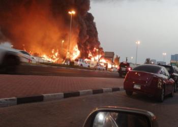 الإمارات تعلن السيطرة على حريق سوق عجمان بلا خسائر بشرية (فيديو وصور)