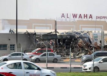 مسؤول إماراتي يكشف أسباب احتراق سوق عجمان