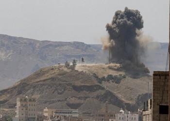 قتلى وجرحى بغارات للتحالف شمال شرقي صنعاء
