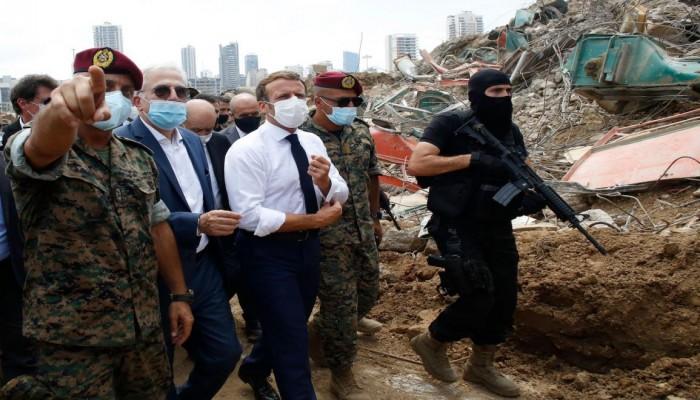 ماكرون في بيروت .. فخّ الحماسة الزائدة