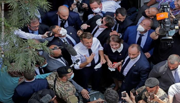 صحيفة: ماكرون حذر قوى لبنان من تدخل تركي ومصير ليبي