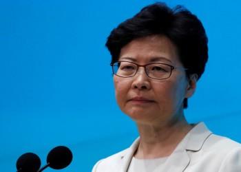 أمريكا تفرض عقوبات على الرئيسة التنفيذية لهونج كونج وآخرين