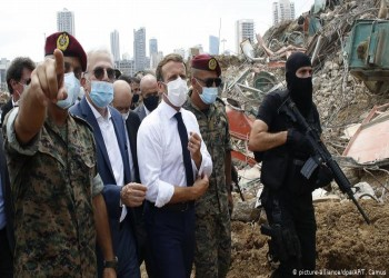 ماكرون يبلغ ترامب بأن الضغط الأمريكي قد يستغله حزب الله