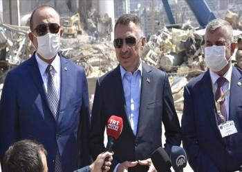 أقطاي يتعهد بمواصلة تركيا تضميد جراح لبنان