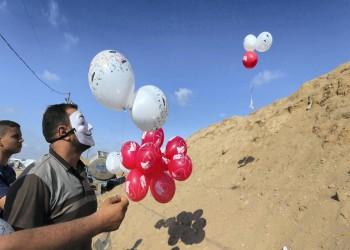 المستوطنات الإسرائيلية تشهد أكبر معدل يومي لحرائق بالونات غزة
