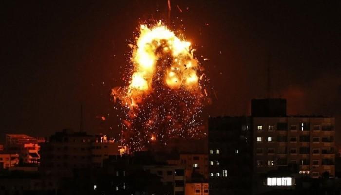 الاحتلال يستهدف مواقع تابعة للمقاومة الفلسطينية في غزة