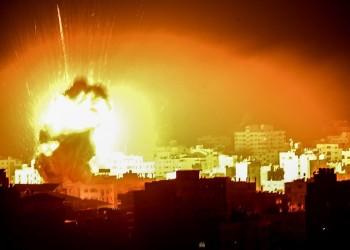 لمواجهة البالونات الحارقة.. قصف إسرائيلي جديد على غزة