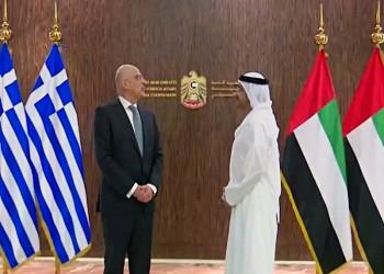 وزيرا خارجية الإمارات واليونان يبحثان نشاط تركيا شرق المتوسط
