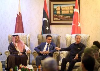 قطر وتركيا تعلنان مواصلة دعم حكومة الوفاق الليبية عسكريا