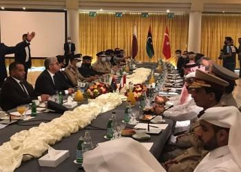 اجتماع قطري تركي ليبي في طرابلس لبناء تعاون عسكري ثلاثي