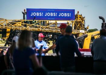 ترامب يتعهد: 10 ملايين وظيفة في أقل من عام حال فوزي مجددا