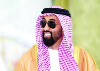 رئيس الموساد في الإمارات وطحنون بن زايد يشيد بجهوده
