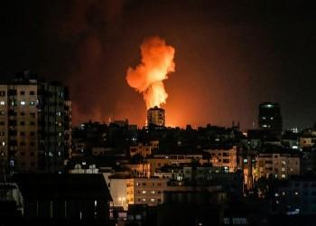 ردا على البالونات الحارقة.. إسرائيل تقصف أهدافا للمقاومة بغزة