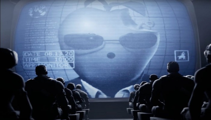 حرب فورتنايت وأبل تتواصل.. فيديو يصور أبل كديكتاتور برأس تفاحة