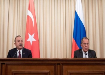 لافروف وجاويش أوغلو يبحثان أزمتي سوريا وليبيا