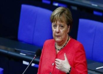 ميركل: الوضع حرج في شرق المتوسط وندعو للاستقرار