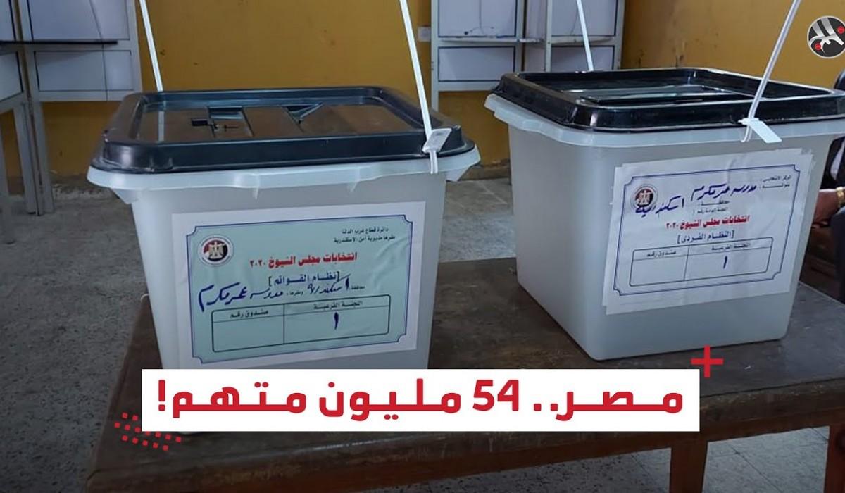 مصر.. 54 مليون متهم!