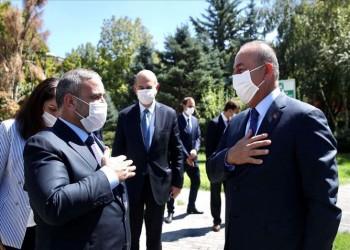 بعد لقائه أردوغان.. المشري يلتقي جاويش أوغلو في أنقرة