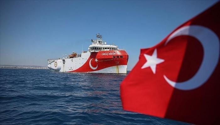تركيا تمدد عمل سفينة استكشاف شرقي البحر المتوسط