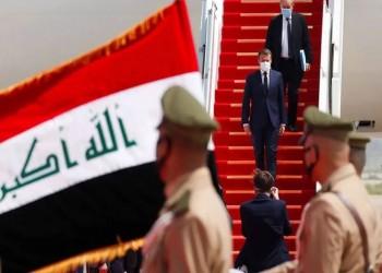 ماكرون يصل بغداد في زيارة هي الأولى من نوعها