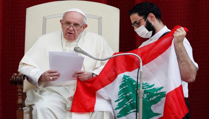 البابا فرنسيس يدعو للصلاة من أجل لبنان:  يواجه خطرا كبيرا